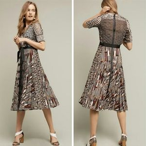 Anthropologie Byron Lars Paillette Dress NWT 14